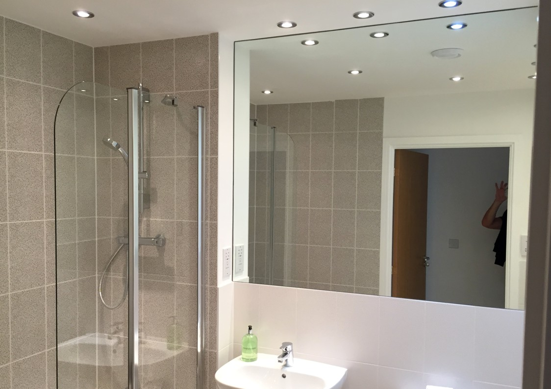 Bathroom Mirror Glass Splashbacks