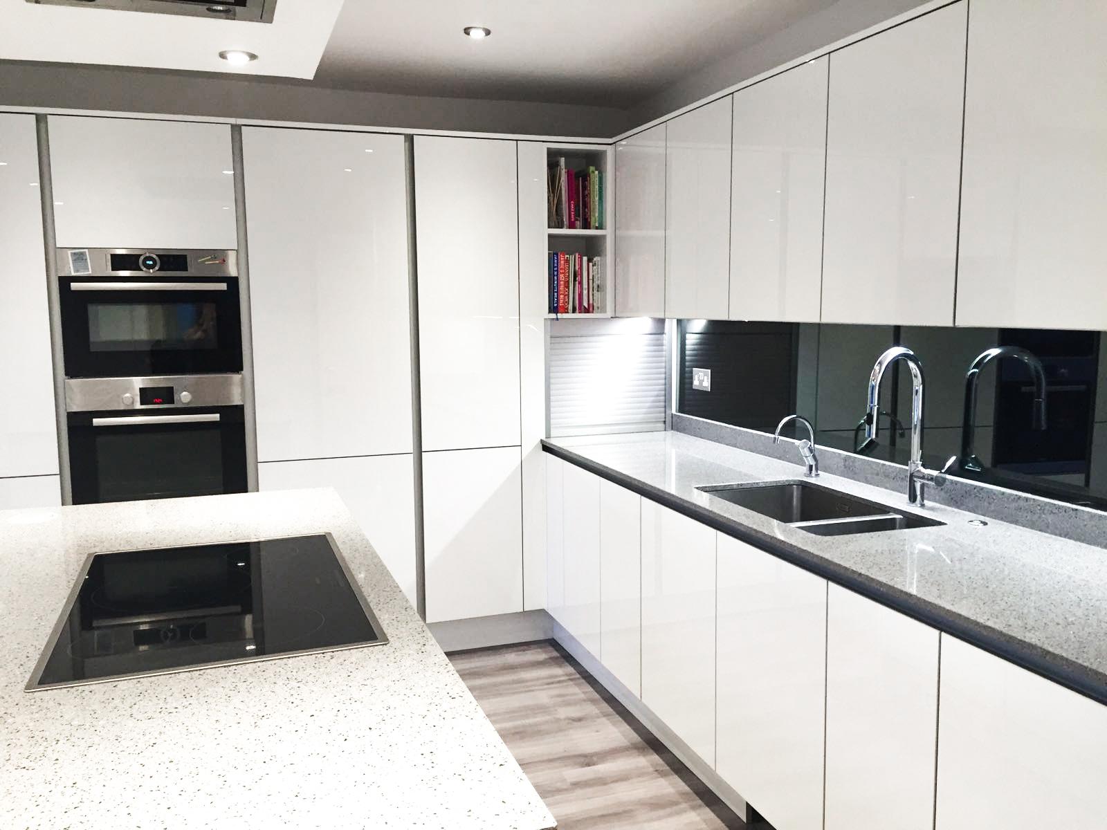 Mirror Glass Splashbacks – Kitchen – The Splashbacks Company