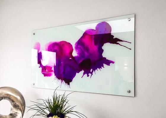 Printed Kitchen Glass Splashback
